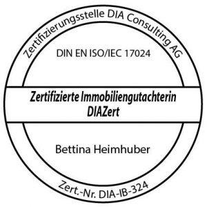 DIA-Siegel zum zertifizierten Immobiliengutachter