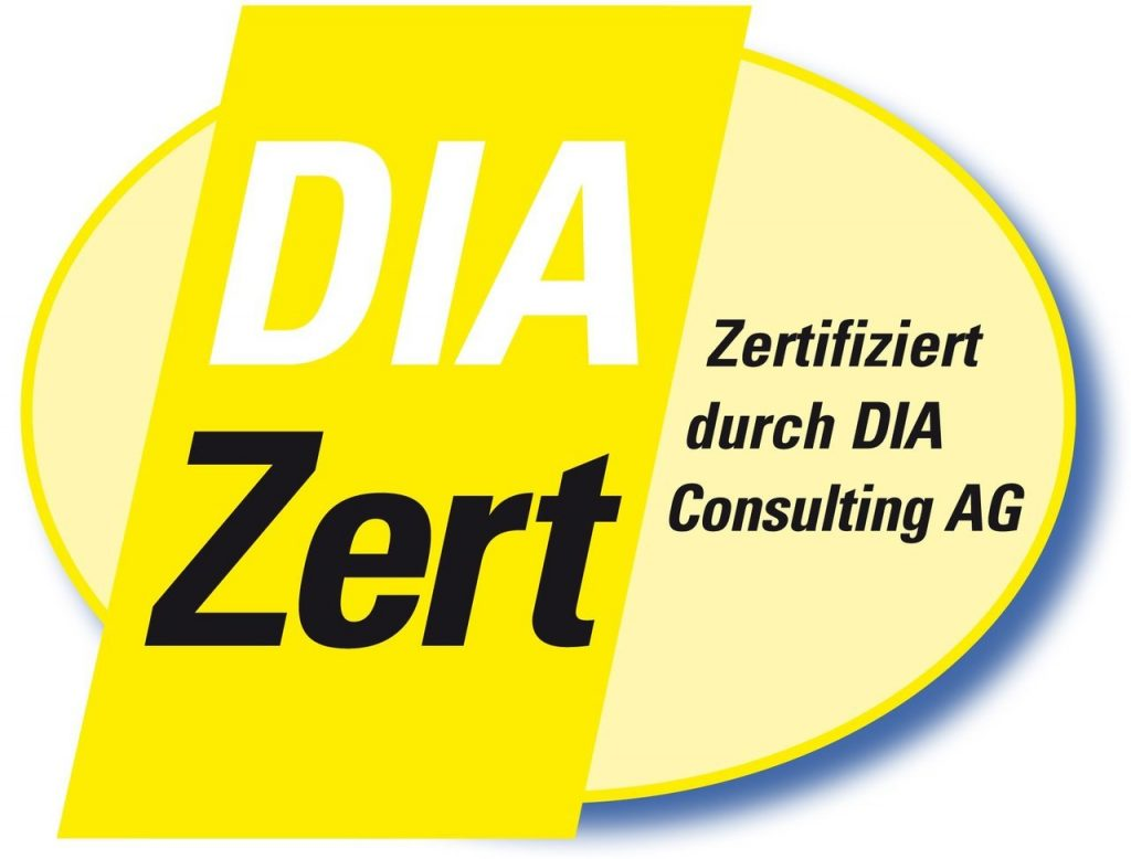 Logo DIA Zertifizierungsstelle